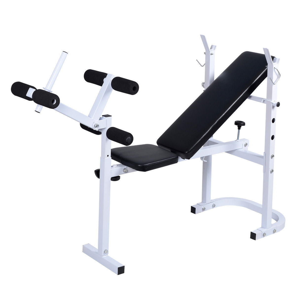 Solid Olympic Folding Incline Lift Workout Bench