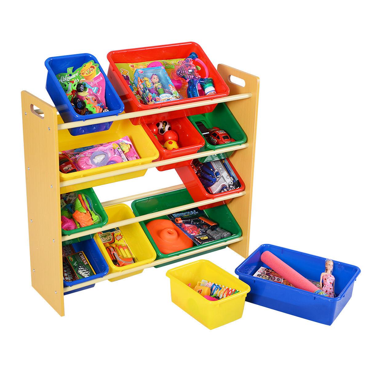 Toy Bins Organizer Storage Box