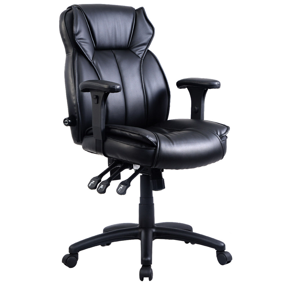 40 lbs Ergonomic PU Leather Office Chair