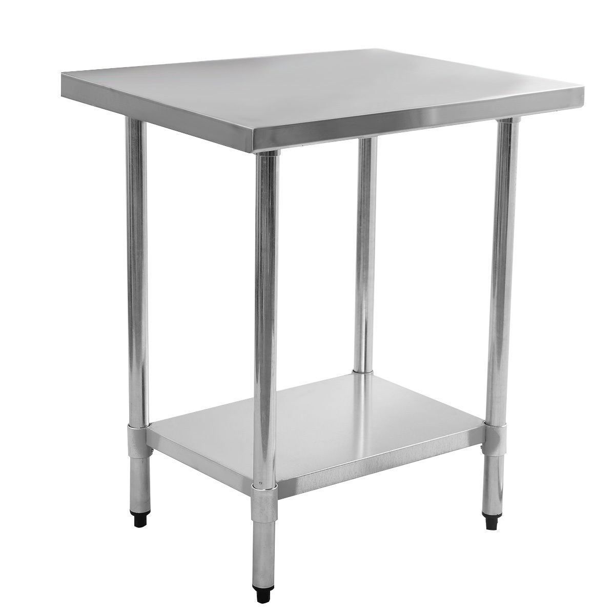 """24"""" x 36"""" Stainless Steel Commercial Kitchen Food Prep Table"""