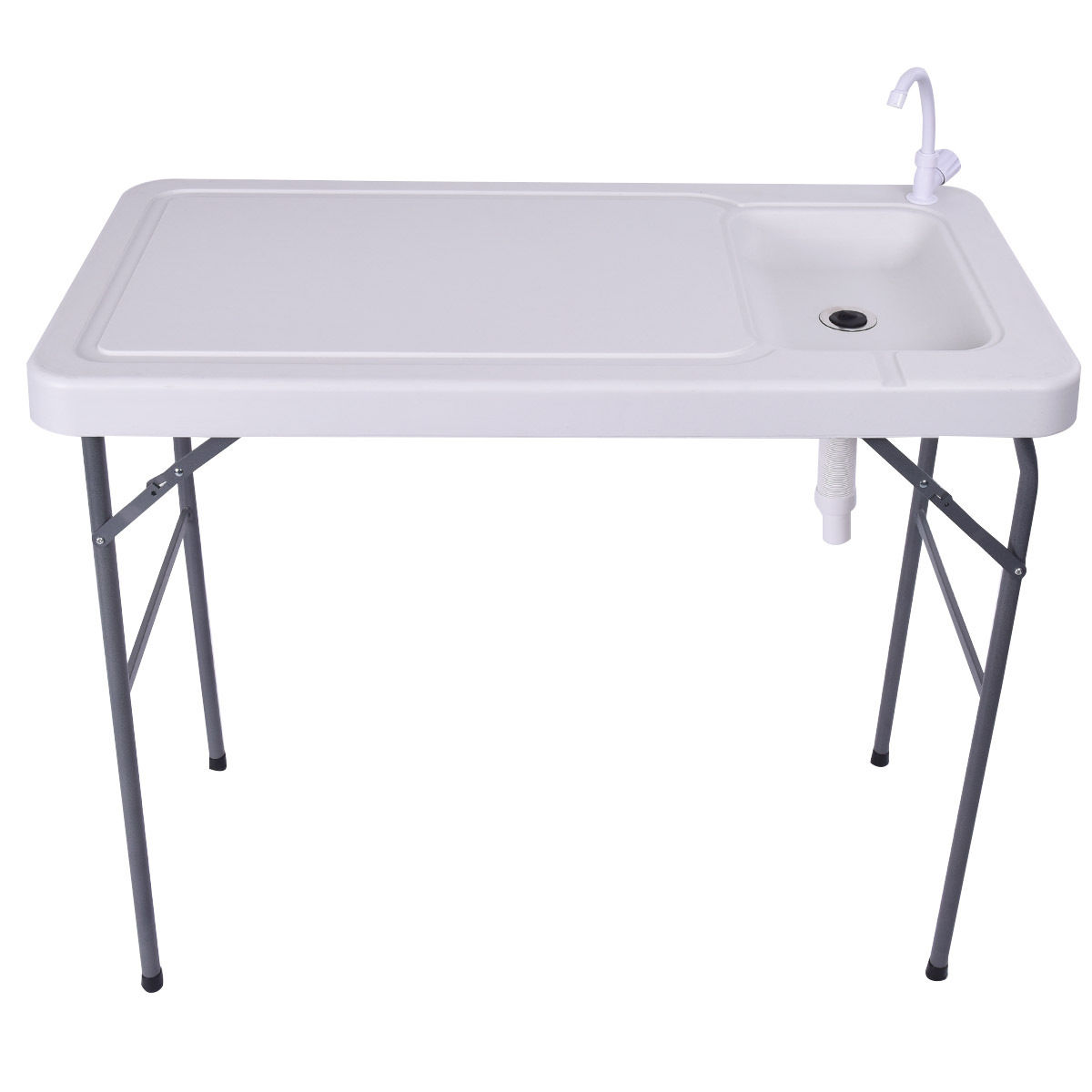 Folding Portable Hunting Cleaning Cutting Camping Fish Table