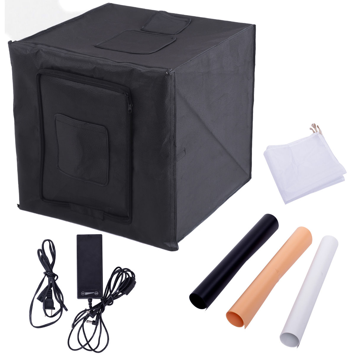 "24"" Foldable LED Photo Studio"