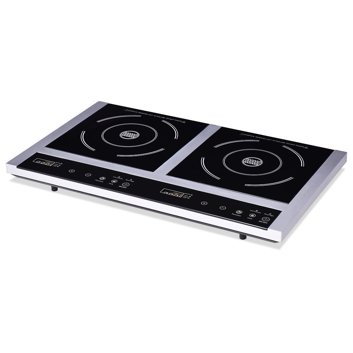 Double Burner Cooktop Digital Electric Induction Cooker EP23108
