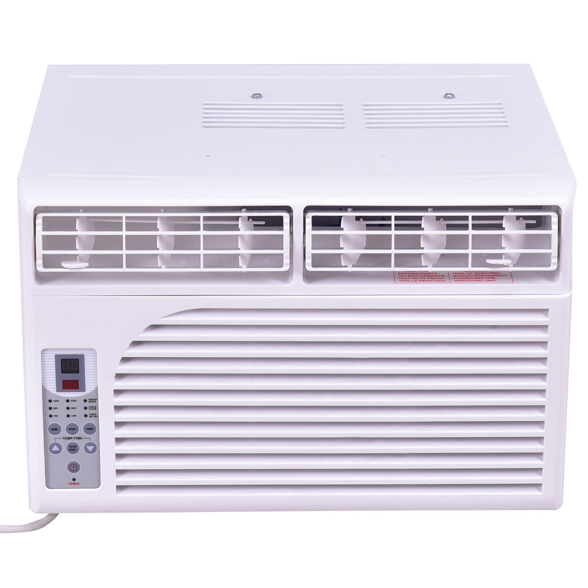 6000/8000/10000 BTU 115 V White Compact Window-Mounted Air Conditioner with Remote Control EP2286466-US
