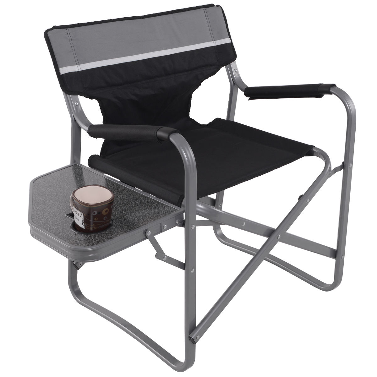 Folding Outdoor Camping Director's Chair with Cup Holder OP3208