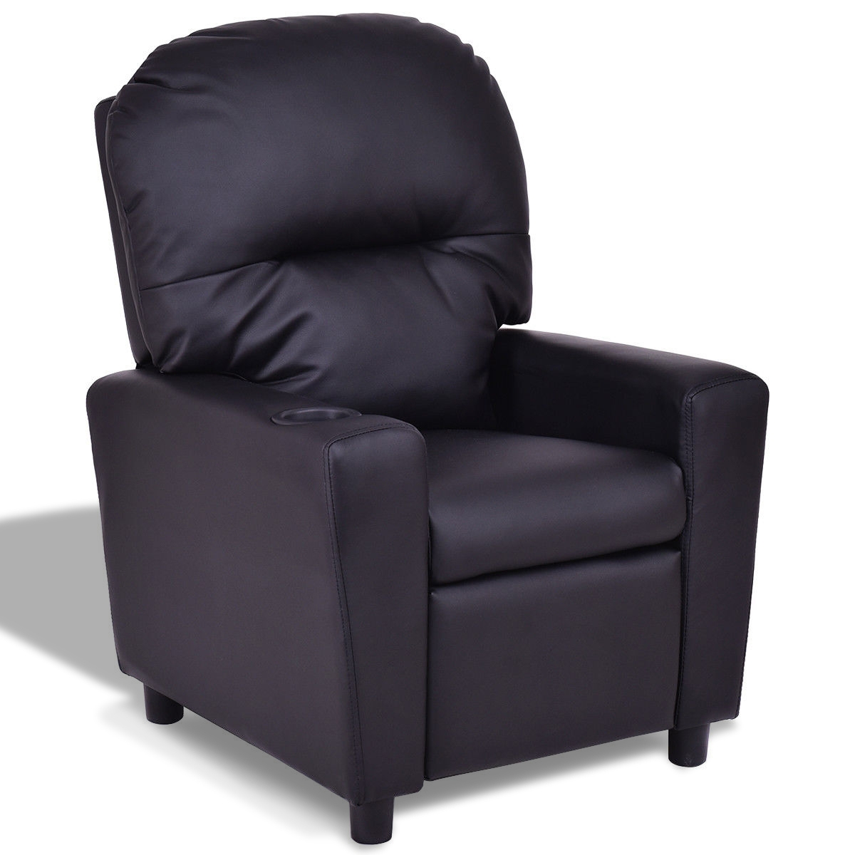 Kids Armchair Recliner Children's Furniture Sofa w/ Cup Holder HW56245