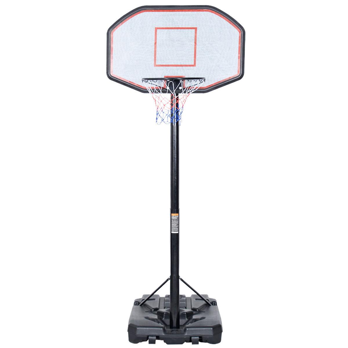 In/Outdoor Adjustable Height Basketball Hoop