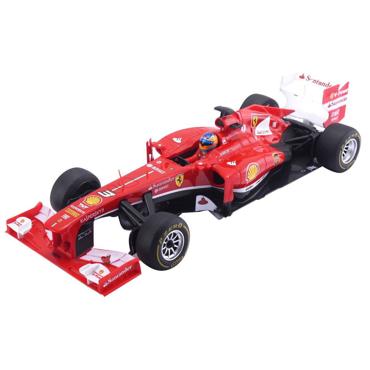 1/12 Ferrari F138 Licensed Electric Speed Racing Car Formula One F1 RC Car Red TY558749