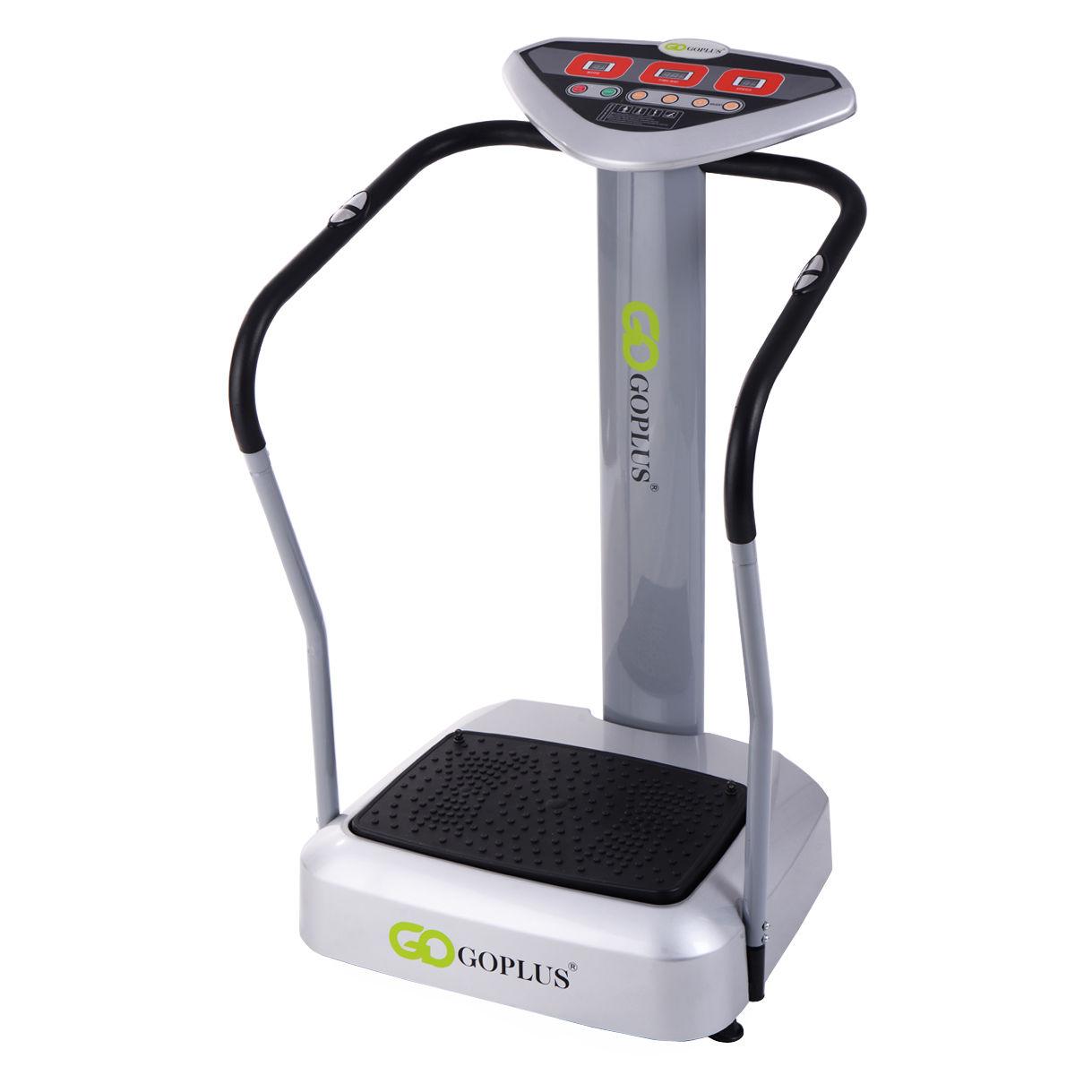 1000W Crazy Fit Whole Body Vibration Platform Exercise Machine Massage Massager SP35268
