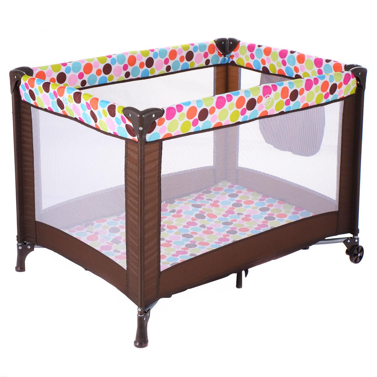 Baby Bassinet Travel Portable Bed Playpen