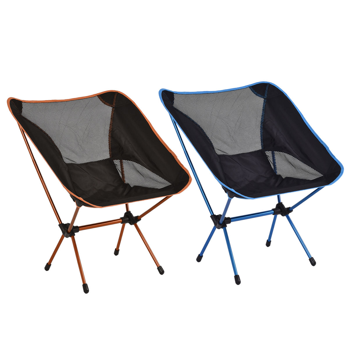 Outdoor Aluminum Hiking Camping Folding Chair w/ Bag OP3071