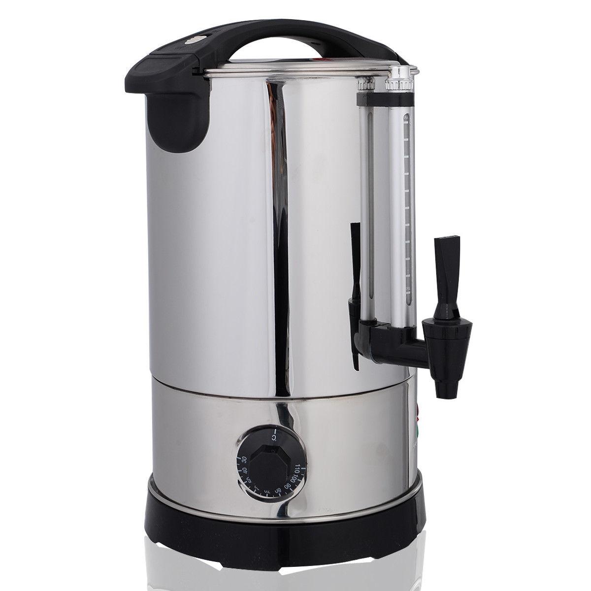 6-quart Stainless Steel Electric Water Boiler Kettle Dispenser KC39990