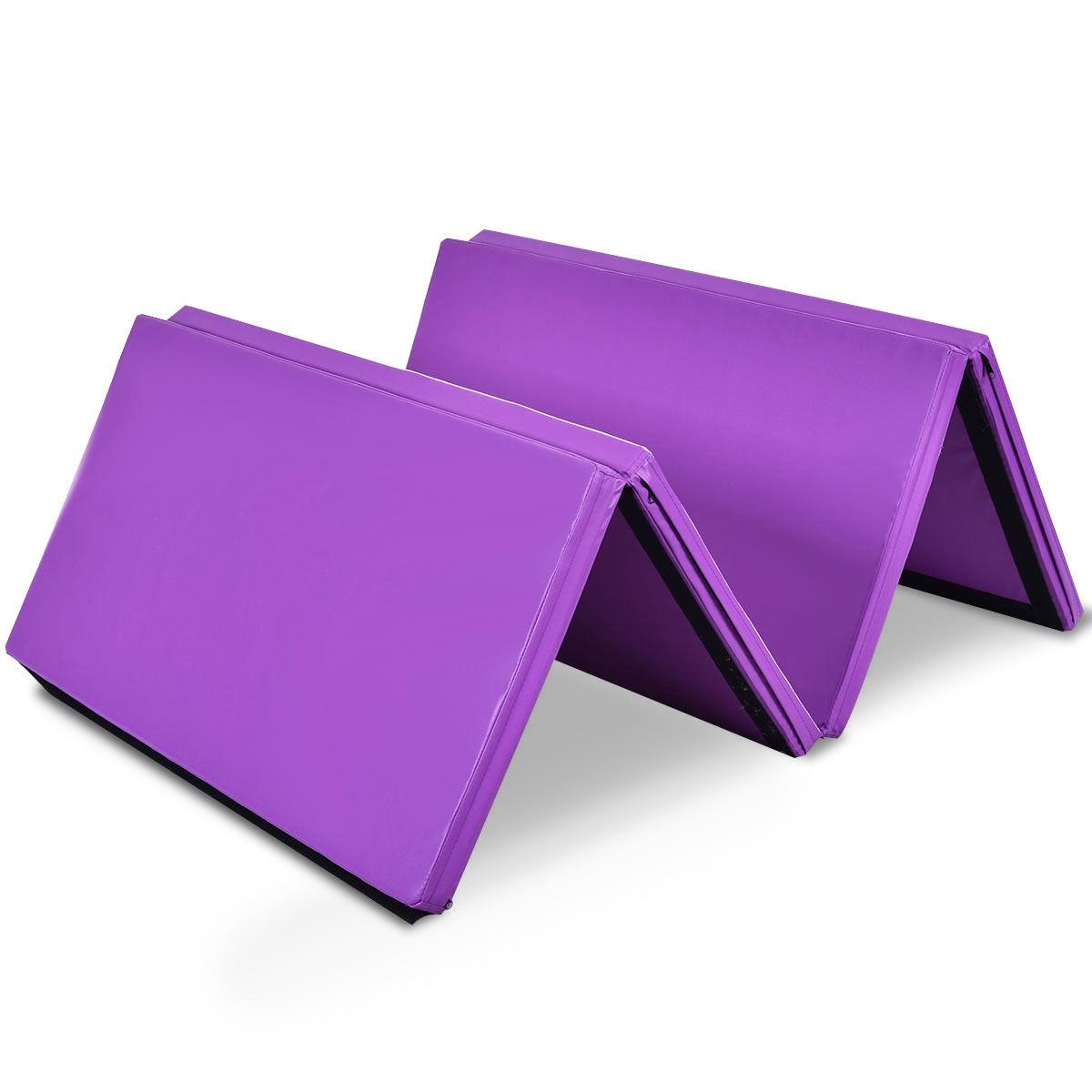 Two Size Thick Folding Panel Gymnastics Mat
