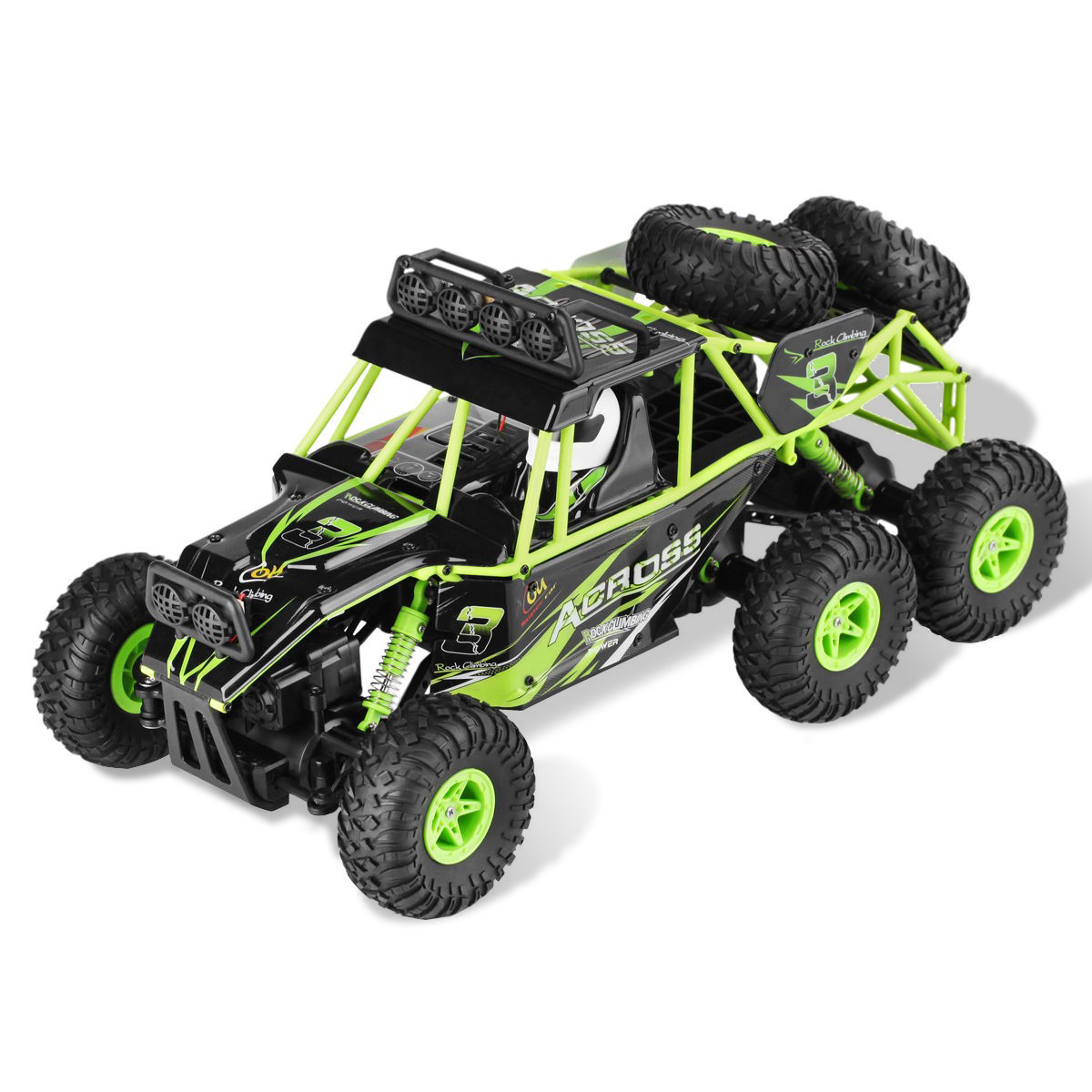 1:18 2.4 G 6 WD Off-road RC Racing Climbing Car