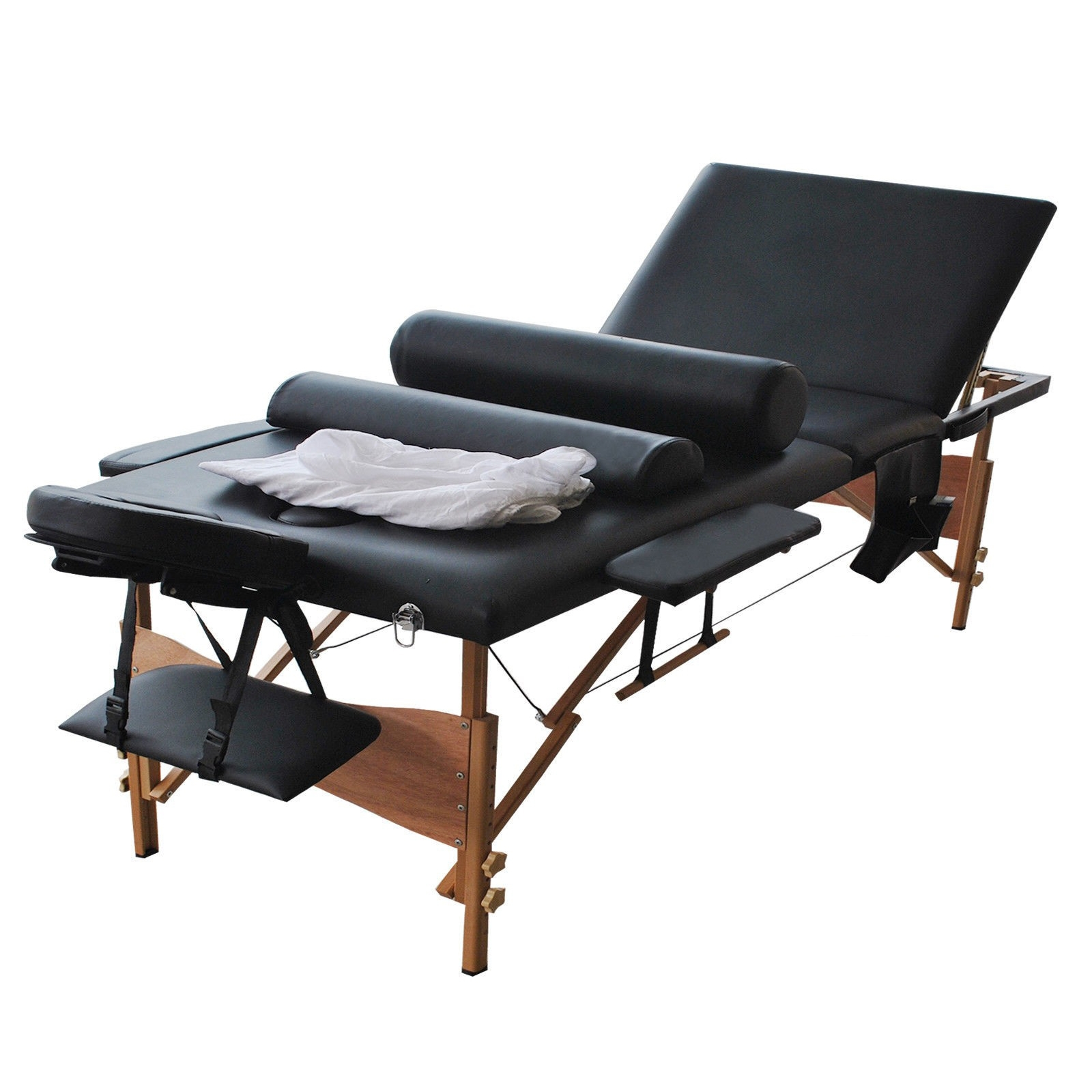 """84""""L 3 Fold Portable Massage Table with Sheet Cover"""