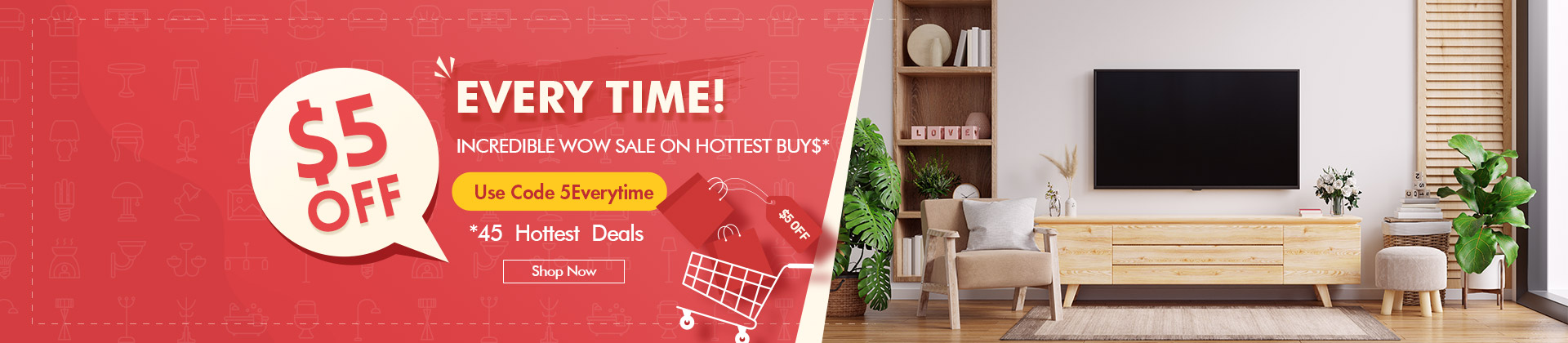 EVERY TIME INCREDIBLE WOW SALE ON HOTTEST BUY$