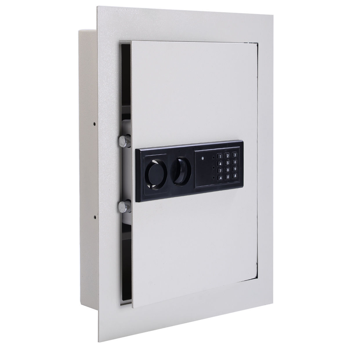 Digital Flat Recessed Wall Safe Security Lock Gun Cash Box