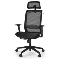 18 Inches to 22.5 Inches Height Adjustable Ergonomic High Back Mesh Office Chair Reciner Task Chair with Hange