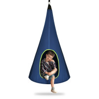 32 inch Kids Nest Swing Chair Hanging Hammock Seat for Indoor and Outdoor