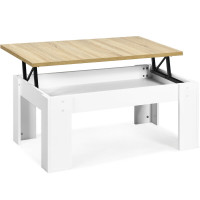 Lift Top Coffee Pop-UP Cocktail Table