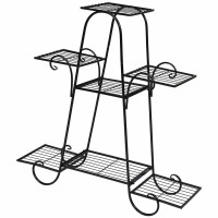 7 Tier Metal Patio Plant Stand