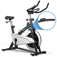 30Lbs Magnetic Fixed Indoor Training Bicycle with Monitor for Gym and House
