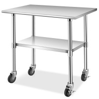 Stainless Steel Commercial Kitchen Prep and Work Table