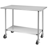 Stainless Steel Commercial Kitchen Prep & Work Table