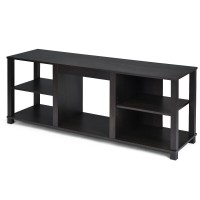 2-Tier TV Storage Cabinet Console with Adjustable Shelves