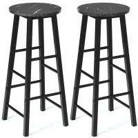 Set of 2 Pub Bistro  Dining Height Bar Stool