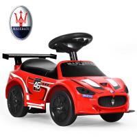 Kids Toy Maserati Ride On Push Car Gliding Scooter
