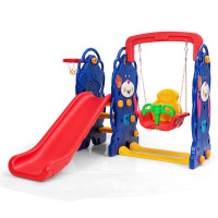 3 in 1 Toddler Climber and Swing Playset