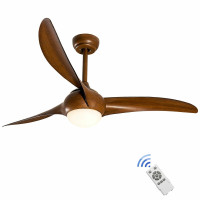 "52"" Low Profile Ceiling Fan with LED Light"