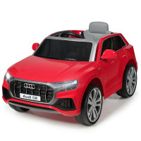 12 V Licensed Audi Q8 Electric Kids Ride On Car with 2.4G Remote Control for Boys and Girls