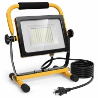 50W 5000lm LED  Portable Outdoor Camping Work Light