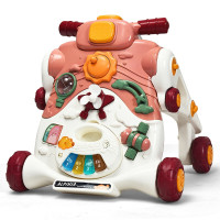 3-in-1 Baby Sit-to-Stand Walker with Music and Lights