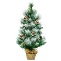 24 Inch Snow Flocked Artificial Christmas Tree