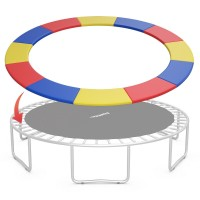 15FT Trampoline Replacement Safety Pad Bounce Frame Waterproof Cover
