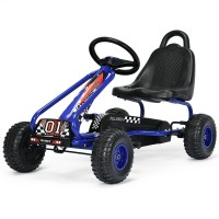 4 Wheel Pedal Powered Ride On with Adjustable Seat