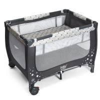One-piece Free Installation Portable Baby Playpen Activity Center