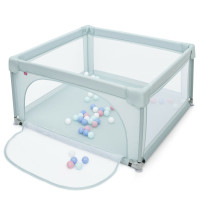 Large Safety Play Center Yard with 50 Balls for Baby Infant