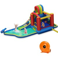 Inflatable Kid Bounce House Castle with Blower