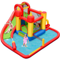 Inflatable Water Slide Jumper Bounce House with Ocean Ball