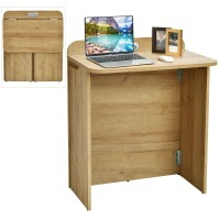 Folding Space Saving Computer/  Laptop Desk Table Workstation with Handle