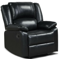 Recliner Chair Lounger Single Sofa for Home Theater Seating with Footrest Armrest
