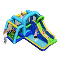 5 In 1 Kids Inflatable Climbing Bounce House without Blower