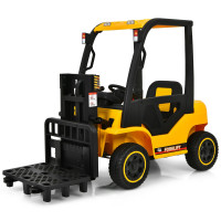 12V Kids Ride On Forklift with Remote Control and Back Trunk