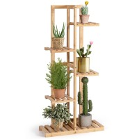 5 Tier 6 Potted Plant Stand Rack for Patio Yard