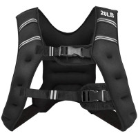 Training Weight Vest Workout Equipment with Adjustable Buckles and Mesh Bag