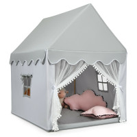 Kids Large Play Castle Fairy Tent with Mat